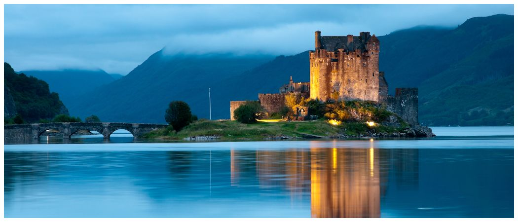 Eilean Castle at Night