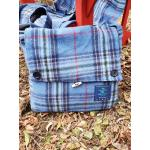One World Tartan Messenger Bag