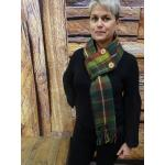 Canadian Rockies Button Scarf