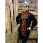 Dark Maple Pocket Scarf