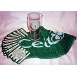 Mini Bar Sets - Celtic - Pint Glass, Bar Towel and 10 beer mats