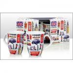 London Mugs set of 2