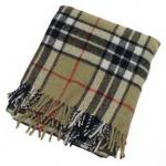 Camel Thompson Wool Blanket
