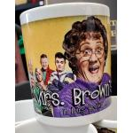 Mrs Brown Cast Mug