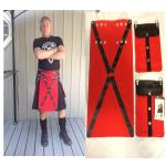 Red Cross Apron Set