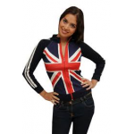 Union Jack Long Sleeve Zip
