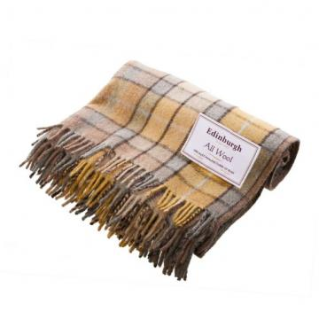 Natural Buchanan merino wool blanket