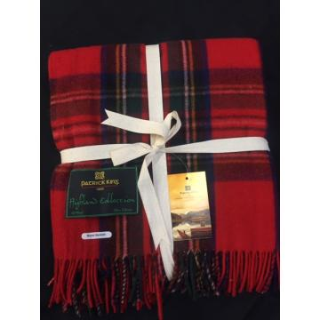 Royal Stewart Tartan knee blanket