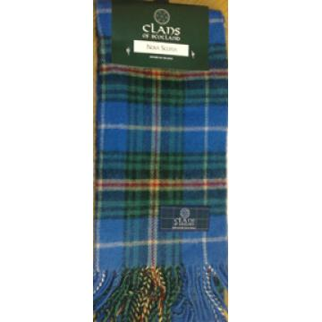 Nova Scotia Clan Wool Scarf