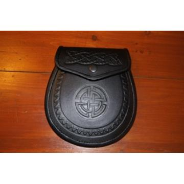 Celtic embossed sporran
